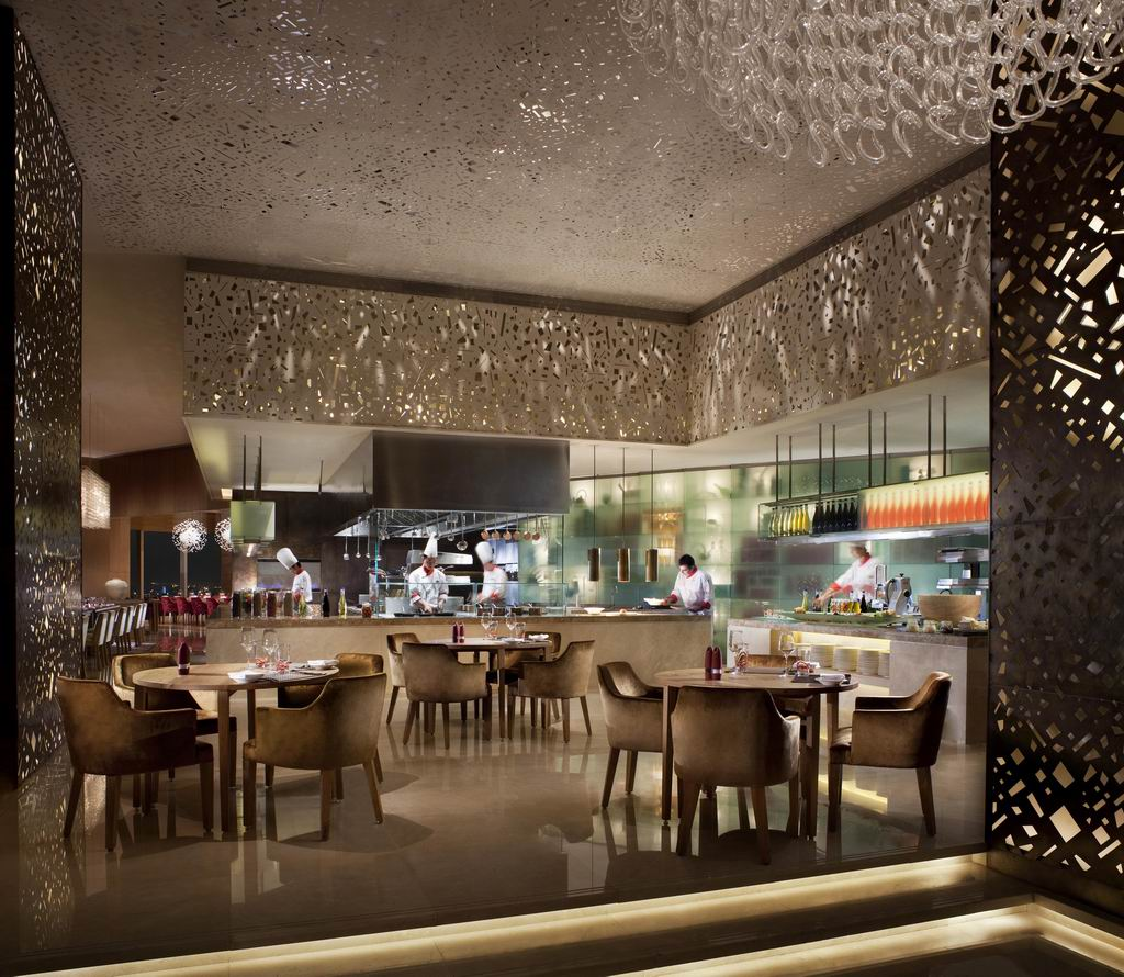 Scena ritz carlton shanghai restaurants dining that s shanghai - Super ktchen desgn dzayn ...